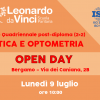 Open Day corso quadriennale post-diploma di Ottica e Optometria (2+2)