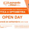 Open day – Corso quadriennale (2+2) Ottica e Optometria