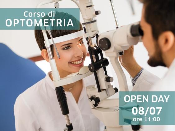 Biennio di Specializzazione in Optometria: il prossimo Open Day in programma per lunedì 8 luglio