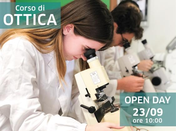 Corso di Ottica biennale: il prossimo Open Day in programma per lunedì 23 settembre